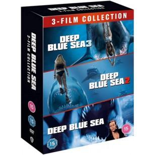 Deep Blue Sea: 3-film Collection [3x DVD]