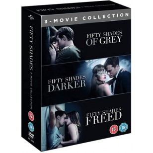 Fifty Shades: 3-movie Collection [3x DVD]