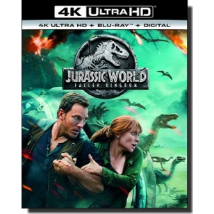 Jurassic World: Fallen Kingdom [4K UHD+Blu-ray+DL]
