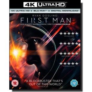 First Man [4K UHD+Blu-ray+DL]