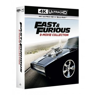 Fast & Furious 8-Movie collection [4K UHD+Blu-ray]