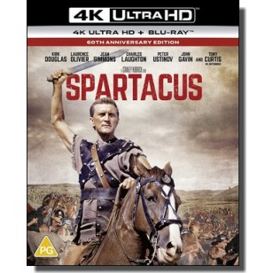 Spartacus [60th Anniversary] [4K Ultra HD+ Blu-ray]