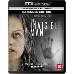 The Invisible Man [4K Ultra HD+ Blu-ray]