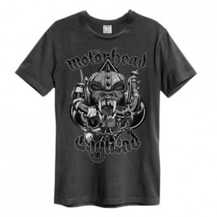 Snaggletooth Amplified Vintage Charcoal Large T Shirt