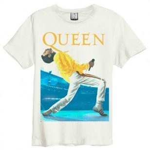 Freddie Triangle Amplified Vintage White Medium T Shirt