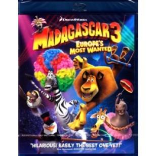 Madagaskar 3: Euroopa tagaotsituimad | Madagascar 3: Europe's Most Wanted [Blu-ray]