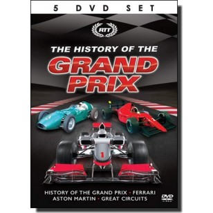 The History Of The Grand Prix [5DVD]