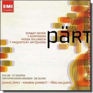 Stabat Mater; I Sümfoonia; Missa Syllabica; 7 Magnificat Antiphons [2CD]