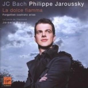 J.C. Bach La Dolce Fiamma - Forgotten Castrato Arias [CD]