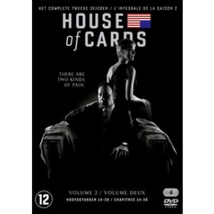 House of Cards: Season 2 [4DVD]