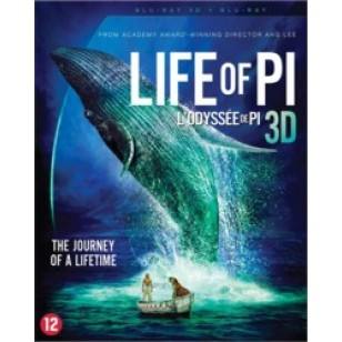 Life of Pi [3D Blu-ray]