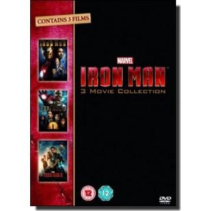 Iron Man 3 Movie Collection [3DVD]