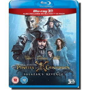 Pirates of the Caribbean 5: Salazar's Revenge [2D+3D Blu-ray]