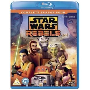 Star Wars Rebels: Complete Season 4 [2Blu-ray]