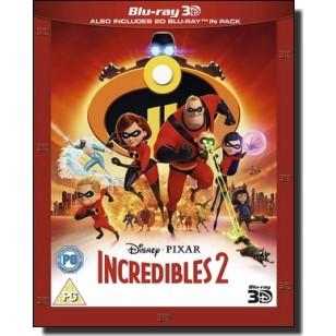 Incredibles 2 [2D+3D Blu-ray]