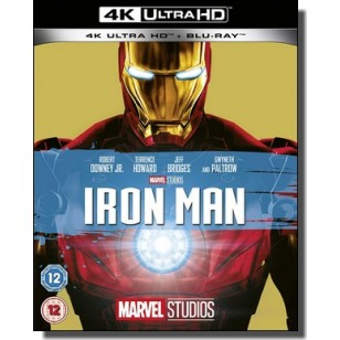 Iron Man [4K Ultra HD+ Blu-ray]