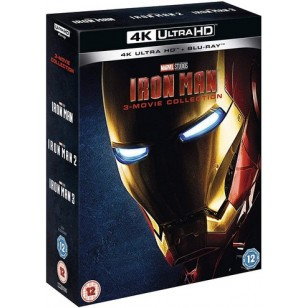 Iron Man 3 Movie Collection [4K Ultra HD+ Blu-ray]