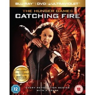 The Hunger Games: Catching Fire [Blu-ray+DVD+UV Copy]