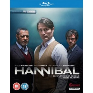 Hannibal - Season 1-3 [12Blu-ray]