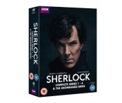 Sherlock: Complete Series 1-4 & The Abominable Bride [10xDVD]