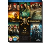 Pirates of the Caribbean: 5-movie Collection [5x Blu-ray]