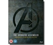 The Avengers Assemled: Complete 4-movie Collection [5x Blu-ray]