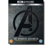 The Avengers Assemled: Complete 4-movie Collection [4K UHD+ Blu-ray]