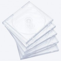 1CD karp, läbipaistva sisuga, A-klass (5 karpi)