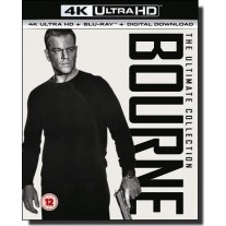 Bourne: The Ultimate 5-movie Collection  [5x 4K UHD+ 5x Blu-ray]