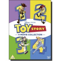 Toy Story 1-4 [4DVD]
