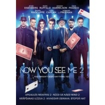 Nüüd sa näed mind 2 / Now You See Me 2 [DVD]