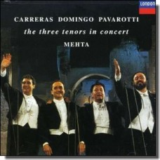 Three Tenors In Concert [CD]