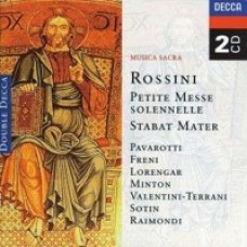 Petite Messe Solennelle / Stabat Mater [2CD]