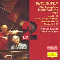 The Complete Violin Sonatas Vol. 1 [2CD]