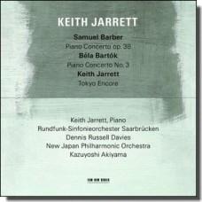 Samuel Barber / Bela Bartok [CD]