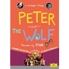 Peter and The Wolf: Narrated by Sting [DVD]