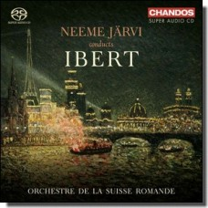 Neeme Järvi conducts Ibert [Super Audio CD]