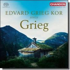 Edvard Grieg Kor Sings Grieg [Super Audio CD]