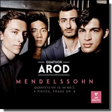 Mendelssohn: Quartets Op. 13/44 No. 2/4 Pieces/Frage Op. 9 [CD]