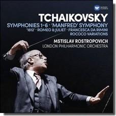 Tchaikovsky: Symphonies 1-6 [6CD]