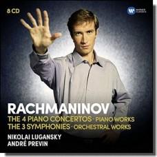 Rachmaninov: The Piano Concert [8CD]