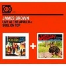 Live at the Apollo / Soul on Top [2CD]