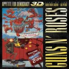 Appetite For Democracy: Live At the Hard Rock Casino, Las Vegas [3D Blu-ray+2CD]