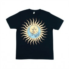 Larks Tongue In Aspic - Vintage Navy Distressed T-Shirt (XL)