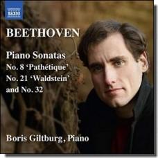 Beethoven: Piano Sonatas Nos. 8, 21 & 32 [CD]