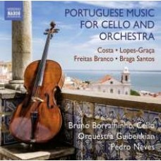 Portuguese Music for Cello and Orchestra [CD]