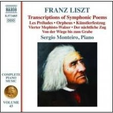 Transcriptions of Symphonic Poems [CD]