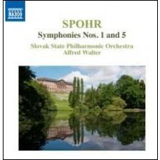 Symphonies Nos. 1 and 5 [CD]
