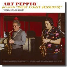 Art Pepper Presents: West Coast Sessions Vol. 3: Lee Konitz [CD]