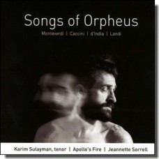 Songs of Orpheus [CD]